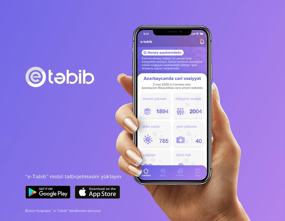 """""""E-təbib"""" mobil tətbiqi istifadəyə verildi"""