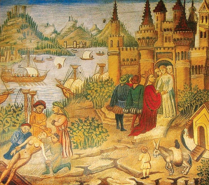 Salerno məktəbi və Salerno sağlamlıq  kodeksi – orta əsr tibb və əczaçılıq abidələri