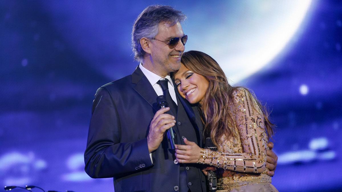 Andrea Bocelli & Jennifer Lopez – Quizás,Quizás,Quizás