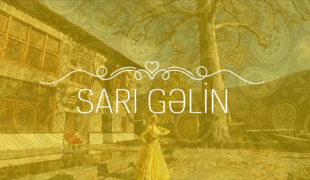 """""""Sarı Gəlin"""" ifa edir Azərbaycan Əməkdar Artisti Eteri Cəfərova."""